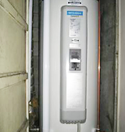 電気温水器から水漏れ