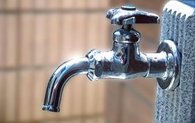 屋外・水栓柱の水漏れ・つまり